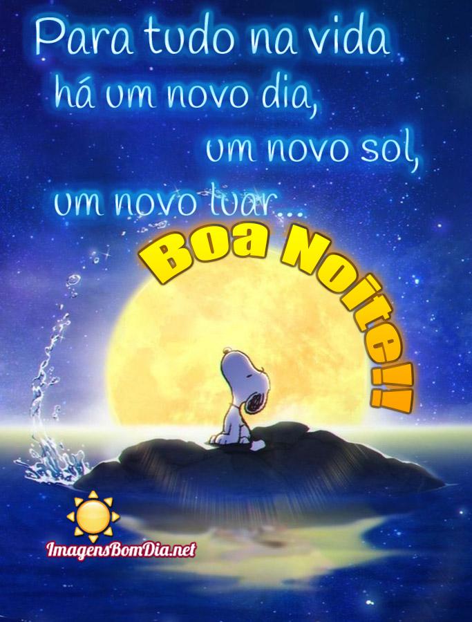 Imagens belas de Boa Noite com Snoopy