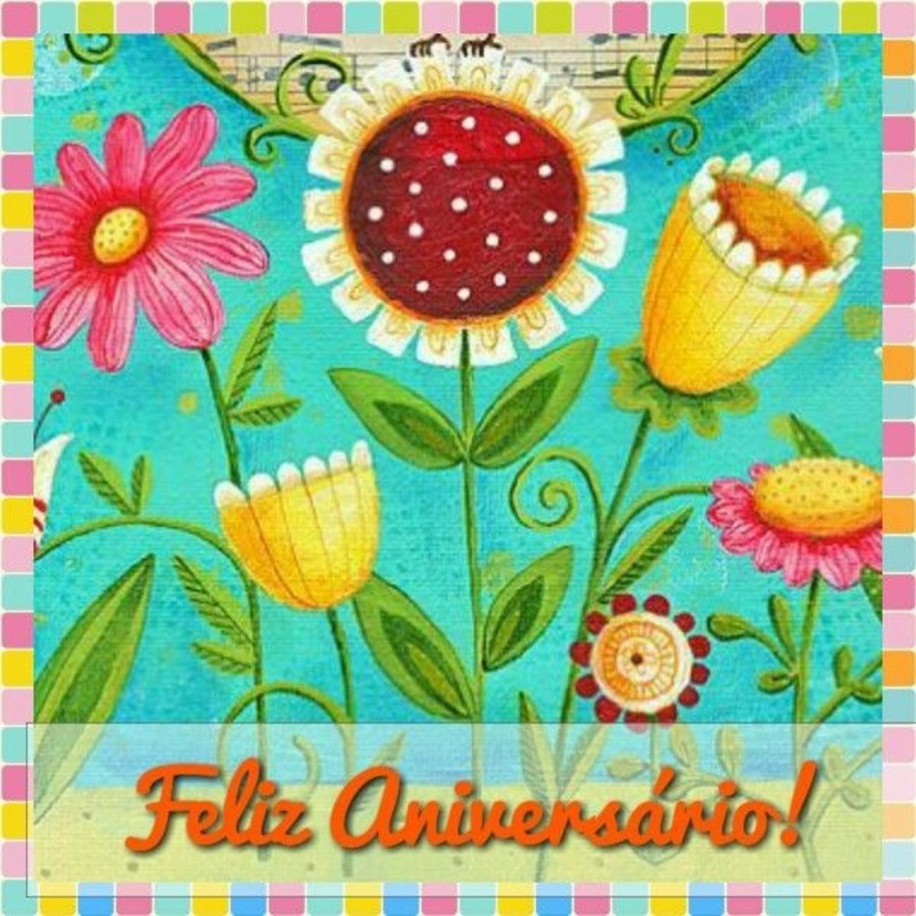 Mensagens bonitas Feliz Aniversário 184